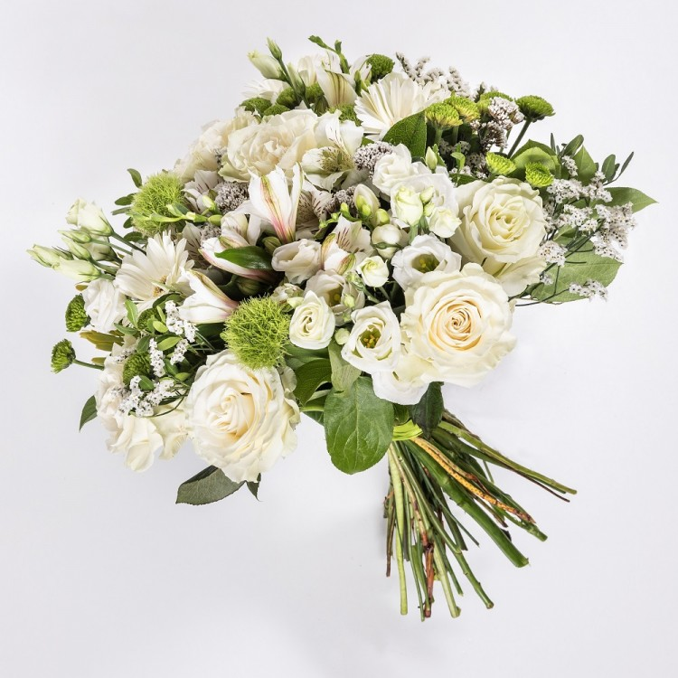Bouquet with creamy Rose