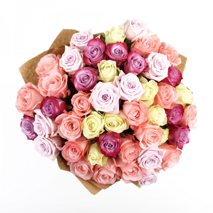 A bouquet of vintage roses